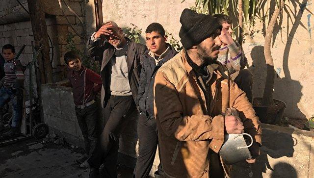 Россия за сутки передала мирным жителям Сирии более 2,5 тонн гумпомощи