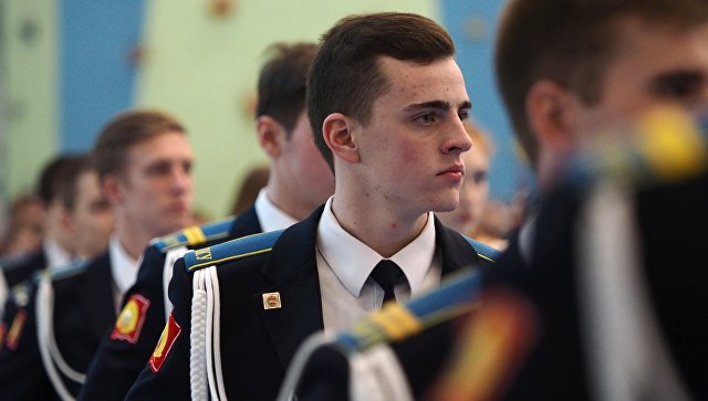 Новогодний кадетский бал. Архивное фото