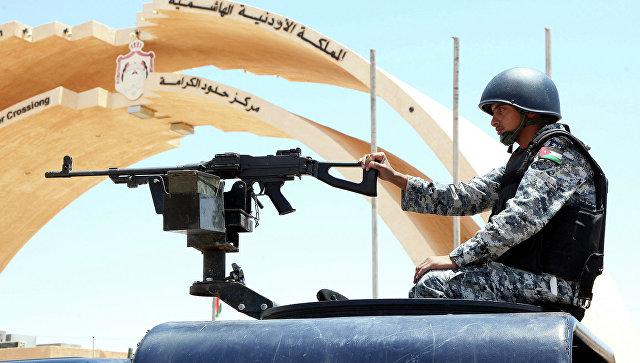 Военнослужащий Иордании. Архивное фото