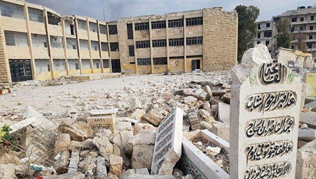 Руины Алеппо. Архивное фото