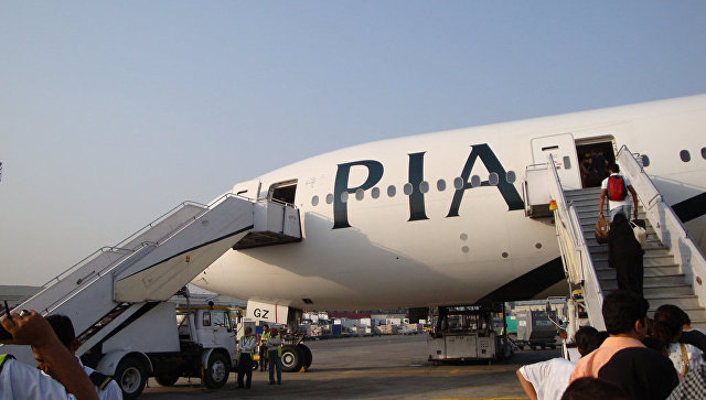 Козла принесли вжертву ваэропорту Пакистана ради снятия сглаза