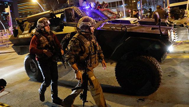 Турецкие власти усилили охрану посольства Российской Федерации вАнкаре
