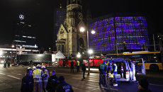 Ситуация в Берлине после наезда грузовика на рождественскую ярмарку