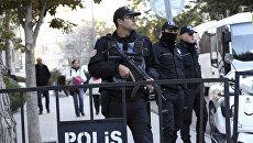 Сотрудники правоохранительных органов Турции. Архив
