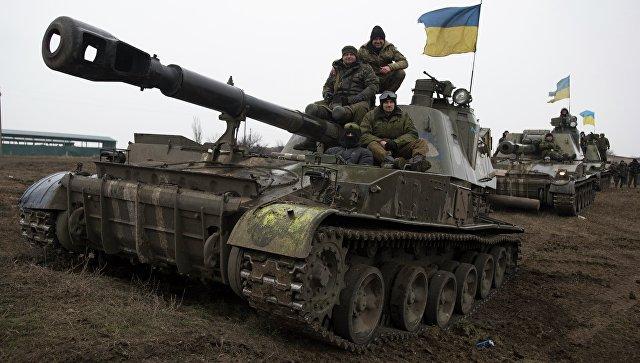 Бронетехника ВСУ в Донецкой области. Архивное фото