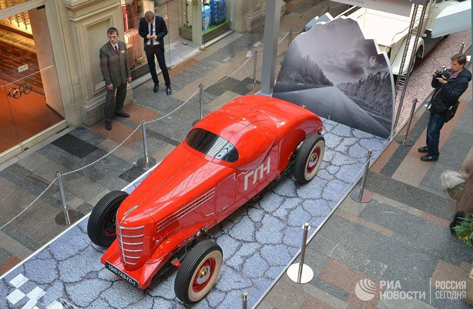 Автомобиль ГАЗ-ГЛ-1