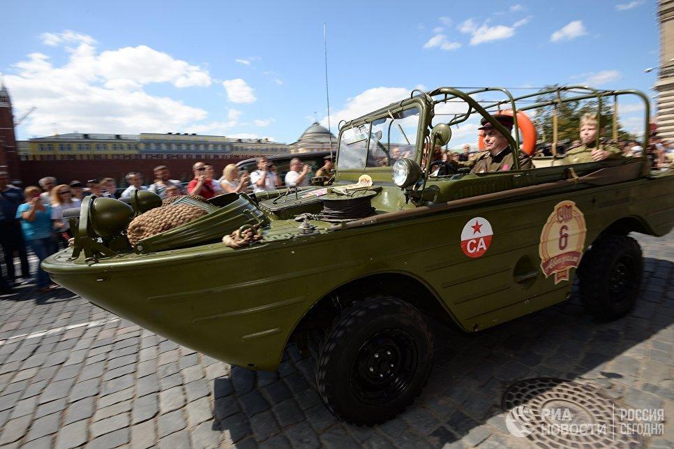 Автомобиль-амфибия ГАЗ-46