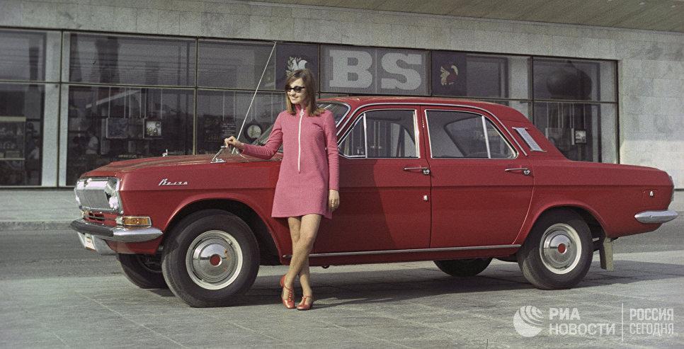 Легковой автомобиль ГАЗ-24