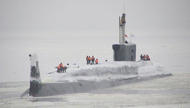 Атомный подводный ракетоносец Князь Пожарский. Архивное фото