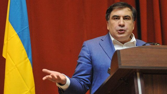 Выступление Михаила Саакашвили во Львове. Архивное фото