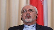 Министр иностранных дел Ирана Мухаммад Джавад Зариф. Архивное фото