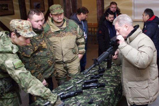 Прицелами Швабе может комплектоваться оружие для военно-тактических игр
