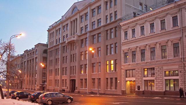 Здание Администрации Президента Российской Федерации на Старой площади. Архивное фото