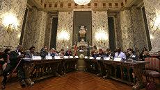 Заседание коллегии выборщиков в Вашингтоне. 19 декабря 2016