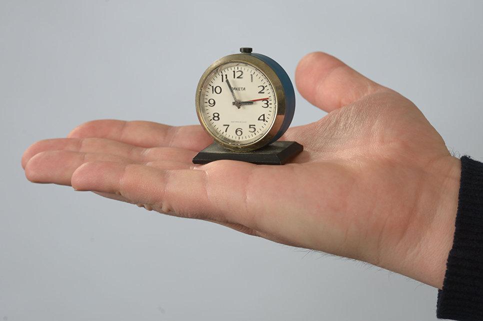 Часы из коллекции Московского Музея Дизайна
