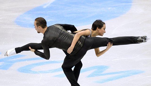 Чемпионами Российской Федерации впарном катании стали Ксения Столбова иФёдор Климов