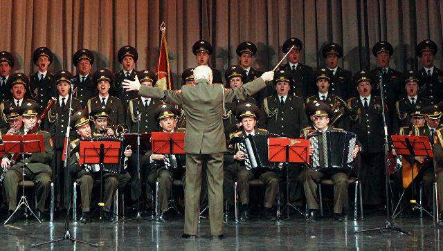 В Италии по ТВ показали гимн России в исполнении ансамбля Александрова