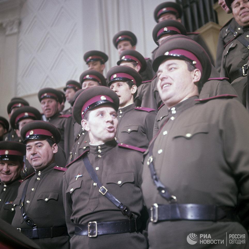Хор Краснознаменного ансамбля песни и пляски Советской Армии имени А. В. Александрова