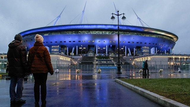 1-ый матч «Зенита» нановом стадионе посетили 11 тыс. человек— Вице-губернатор