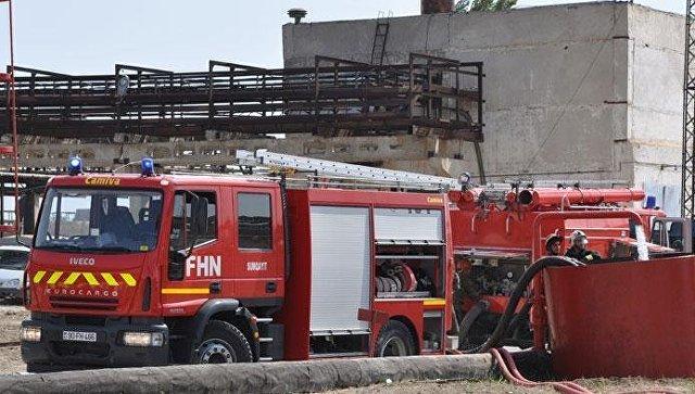 Пожар намагистральном газопроводе вАзербайджане потушен, подача газа восстановлена