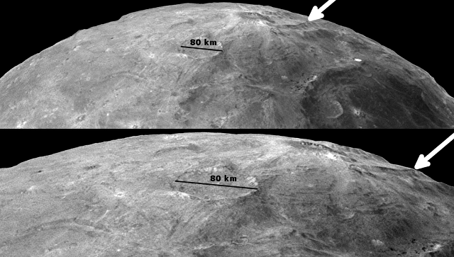 Зонд НАСА отыскал новые следы подземного океана наспутнике Плутона