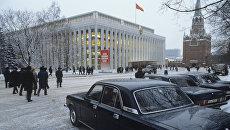 На территории Кремля. Архивное фото