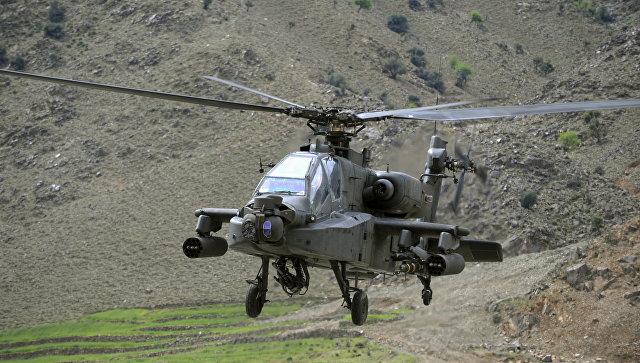 США разместят наавиабазе вЮжной Корее ударные вертолёты AH-64 Apache