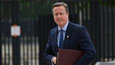 Экс-премьер-министр Великобритании Дэвид Кэмерон. Архивное фото