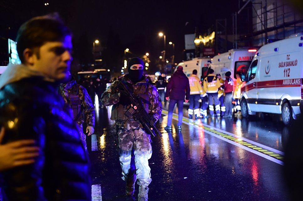 Теракт в Стамбуле. 1 января 2017 года