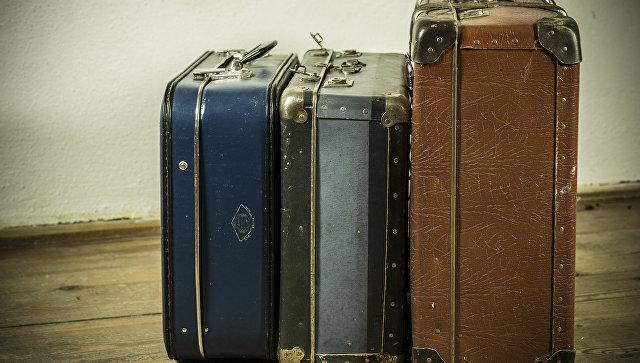 Дорожный багаж. Архивное фото
