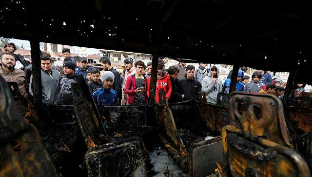 Тройной теракт в Багдаде: погибли более 40 человек