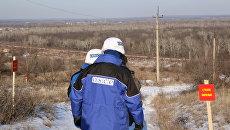 ОБСЕ мониторят ситуацию в Донбассе. Архивное фото