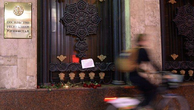 Посольство Узбекистана в Москве. Архивное фото