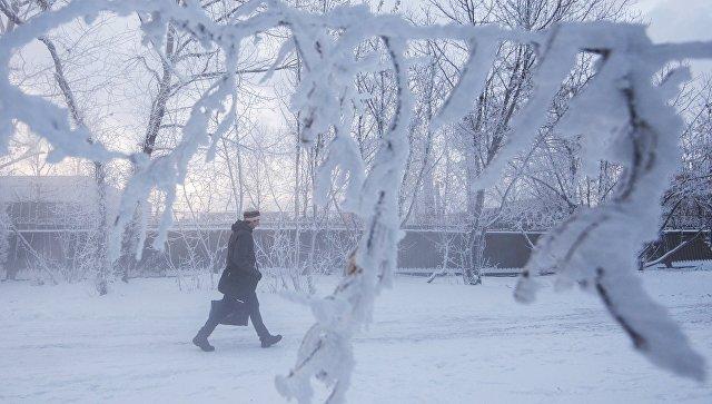 На Колыме отменили занятия в школах из-за морозов