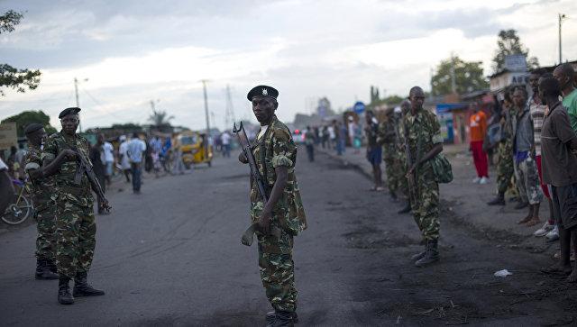 В столице Бурунди прогремели два взрыва