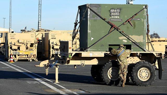 Песков одислокации танков США вПольше: Мырассматриваем это как угрозу