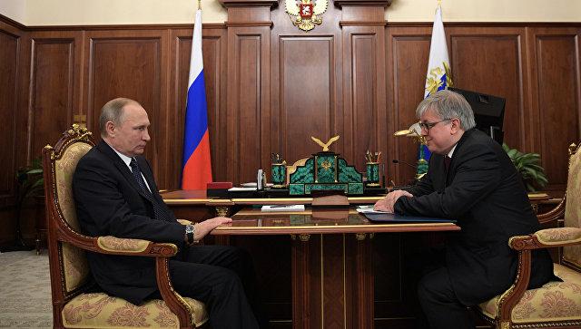 Путин: ситуация спритоком учёных из-за рубежа в университеты РФ поменялась