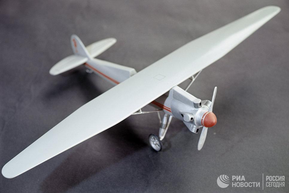 Модель самолета СК-4 конструкции Сергея Королева