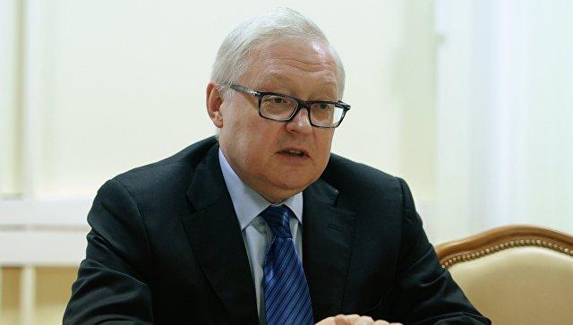 Заместитель главы МИД РФ Сергеем Рябковым. Архивное