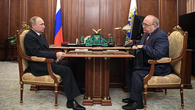 Достойное мнение. Президент РФ и Виктор Садовничий обсудили развитие образования в России