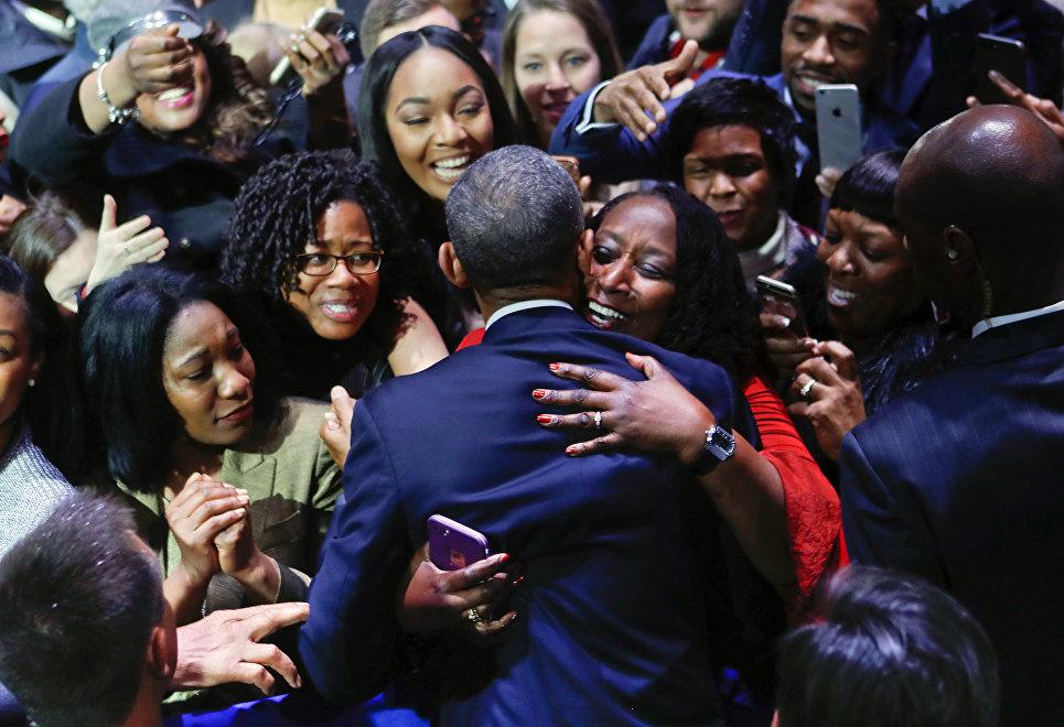 Приветствие Барака Обамы. 10 января 2017