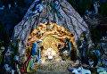 Рождественский вертеп в Бернардинском костеле в Кракове
