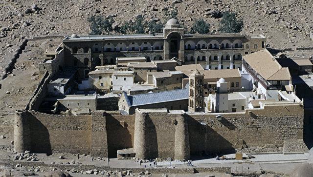Монастырь Святой Екатерины на Синайском полуострове. Архивное фото