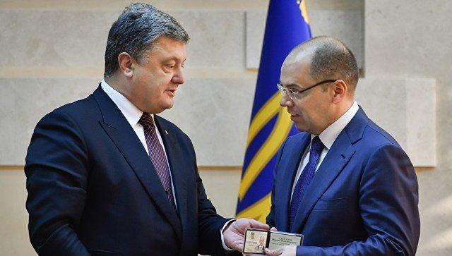 Порошенко назначил нового губернатора Одесской области
