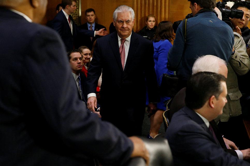 Рекс Тиллерсон утвержден 69-м госсекретарем США