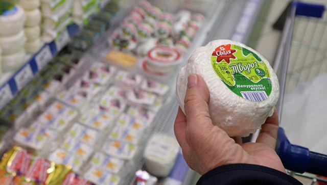 Литовская молочная продукция. Архивное фото