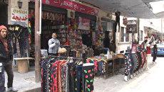 Знаменитый уличный рынок открылся в освобожденном от боевиков Алеппо