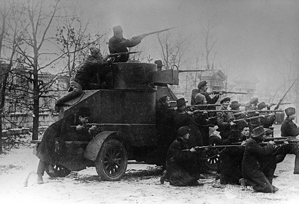 Февральская буржуазно-демократическая революция. Восстание в Петрограде. 1917 год