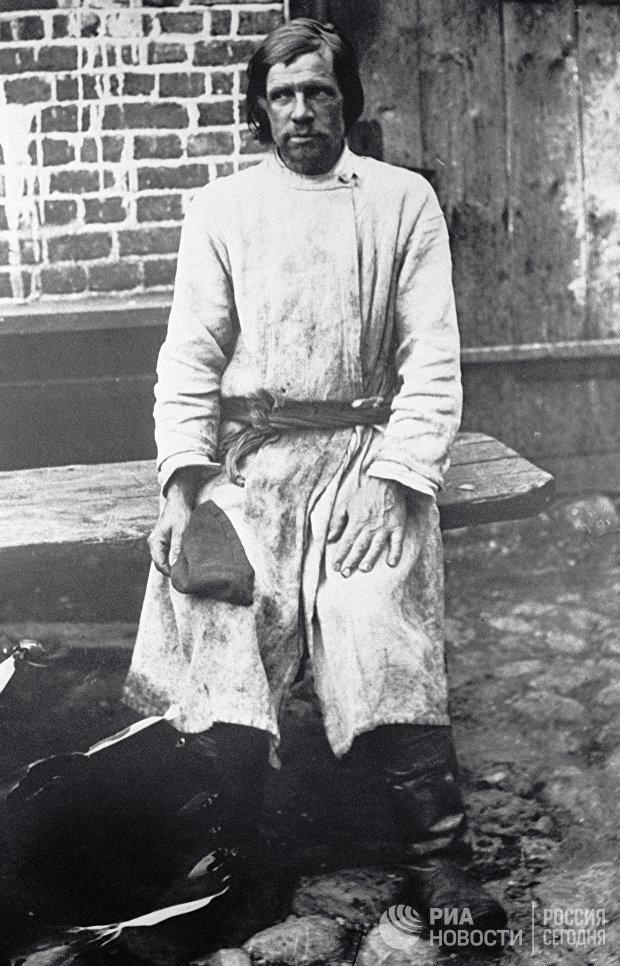 Московский поденный рабочий. 1913 год