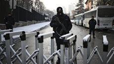 Сотрудники правоохранительных органов Турции. Архивное фото